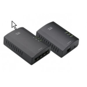 CISCO Linksys PLSK400 Powerline 4-port Kit