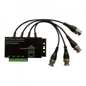 UTP 4 Ch Passive Video Balun HW-P104