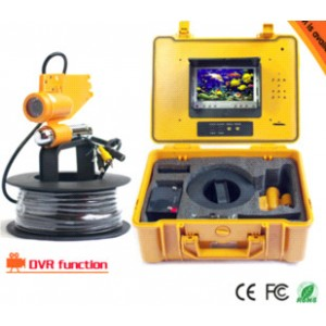 cctv waterproof underwater monitor video camera with 20m cable