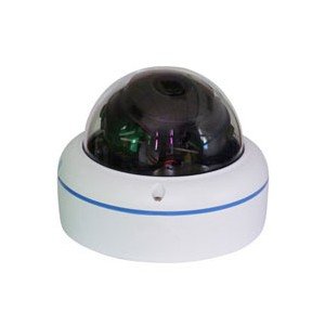 360 Degrees Low Lux Color Panorama Mini Dome Camera