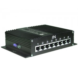 8 Way coaxial surge protection device Type:KLF-X/8TV