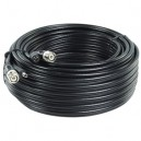 Professionelt coax kabel med BNC stik 30m
