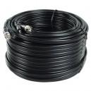 Professionelt coax kabel med BNC stik 50m