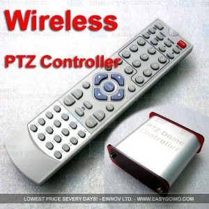 Wireless remote Controller for PTZ camera