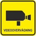 5 stk. Videoovervågning 60 x 60mm udendørs montering