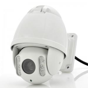 2 MP HD-IP IR PTZ Speed Dome Camera 10X zoom