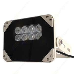 High Power Outdoor IR Illuminator Waterproof 220V 8PCS IR LEDs 940nm - 90°