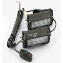 Car Warning Lights Led Grill Strobe Light Yellow