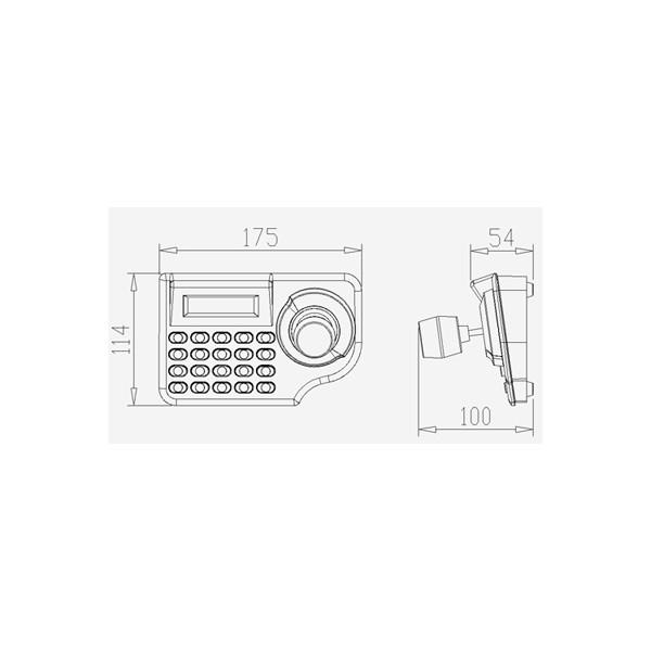 mini control keyboard