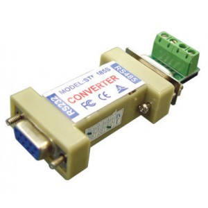 RS-232 to RS-485 Converter for CCTV DVR PTZ controller