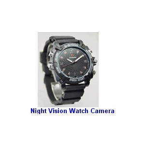 Night Vision Watch Camera 16GB