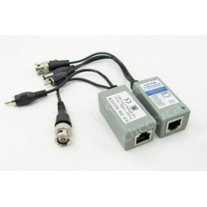 1CH Passive Video Audio Power Data Receiver Balun POE