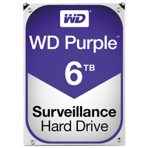 6TB WD Purple Surveillance Storage HDD