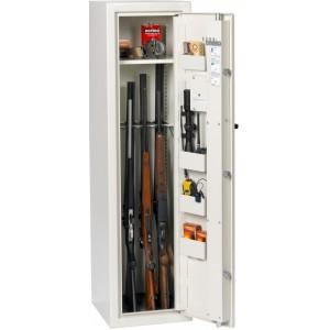 Godkendt våbenskab HL8 med nøgle