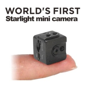 Starlight mini dv camera with 3-5m night vision