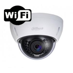Dahua Vandalsikkert WiFi dome kamera 1 MP fast 3,6 mm ir-lys IP66 IPC-HDBW1000E