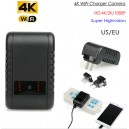 WIFI Charger Camera, HD 4K/2K/1080P, 6pcs IR For Nightvision, TF 16GB