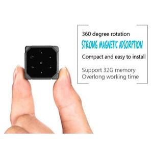 1080p 155 Degree Mini 6pcs IR Leds Night Vision Camera Recorder 16GB