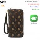 WIFI Bag Camera DVR, P2P/IP,HD2K/1080P, HI3518 V200Chipset, 4000mAh battery, TF Max 128G
