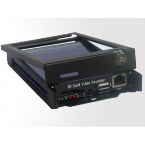 SD Card Mini Vehicle MDVR 4001 Taxi