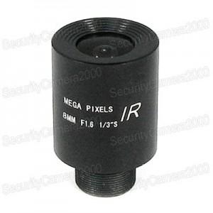 8mm F1.6 Focus Mega Pixels Lens