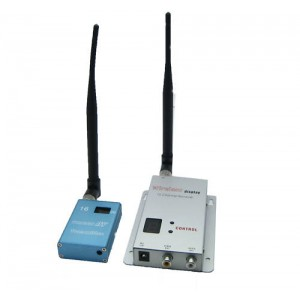 15CH 1.2G Wireless 1W CCTV A/V Transmitter Receiver
